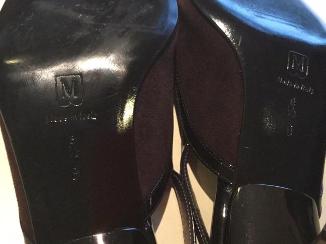 Bruno Magli Brown and Black Made In Italy Formal Shoes Size US 8.5 Regular (M, B) Bruno Magli Brown and Black Made In Italy Formal Shoes Size US 8.5 Regular (M, B) Image 9