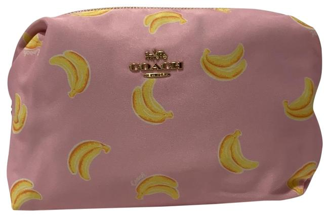 Item - Pink/Yellow Cosmetic Bag