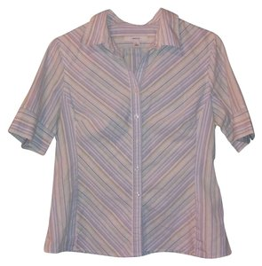 Merona Striped Button Down Shirt
