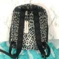 Marc Jacobs All Star Leopard Printed Black / Light Grey Multi Textile Exterior and Lining Backpack Marc Jacobs All Star Leopard Printed Black / Light Grey Multi Textile Exterior and Lining Backpack Image 3