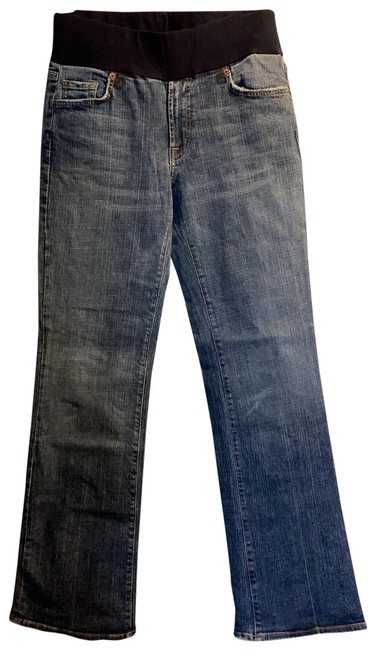 Item - Blue Collaboration with Seven For All Mankind Maternity Denim Size 12 (L)