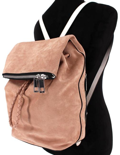 Item - Loner Purse Nude Suede Leather Backpack