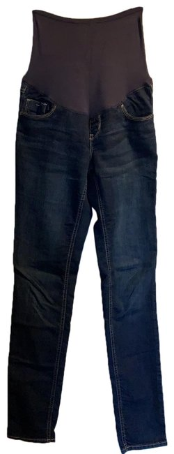 Item - Blue Smooth Panel Maternity Denim Size 2 (XS)