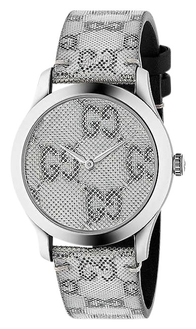 Item - Multi Color Ya1264058 G-timeless Stainless Steel and Leather Watch