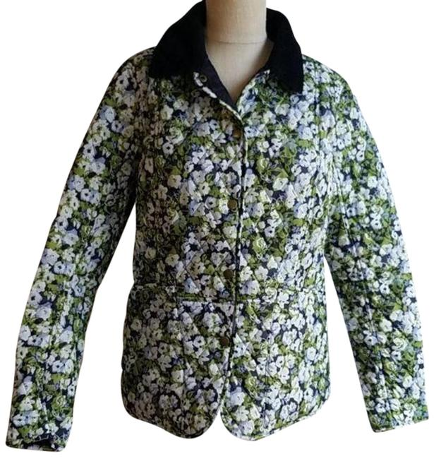 Item - Green Country Cottage Prints Jacket Size 10 (M)