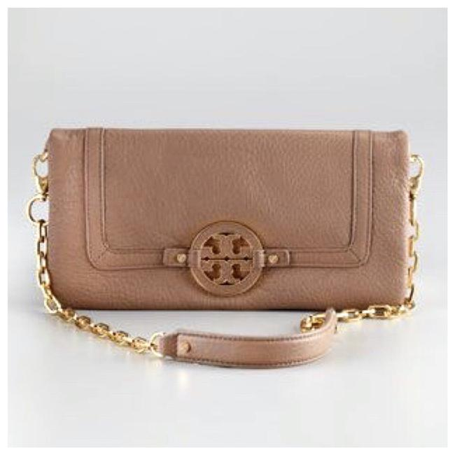 Item - Shoulder Amanda New East-west Wallet On A Chain Brown Tan Leather Cross Body Bag