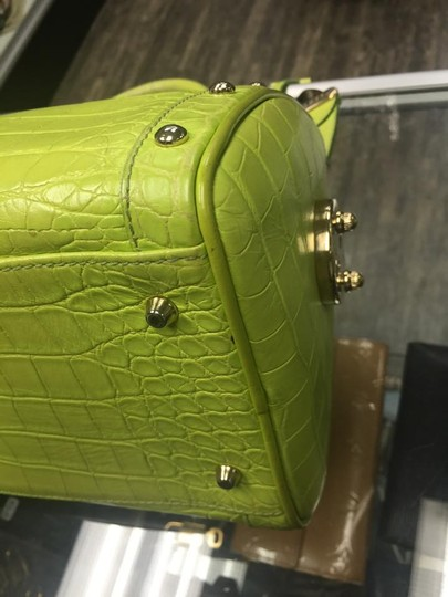 Versace Tote in green
