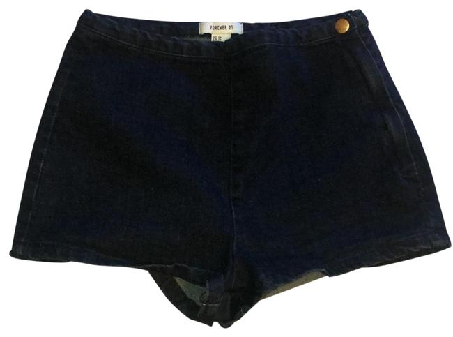 Item - Indigo Blue Stretch Denim Shorts Size 2 (XS, 26)