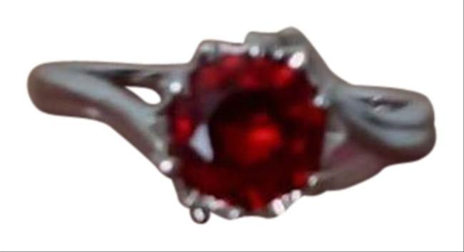 Item - Red Silver Ring