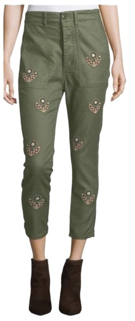 Item - Green Slouch Army Pants Size 4 (S, 27)