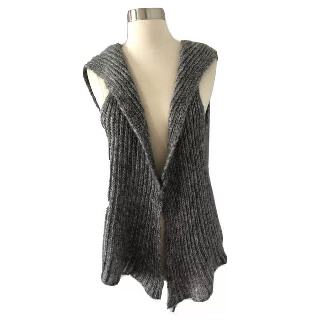 Item - Grey Mohair & Wool Sweater Vest Size 6 (S)