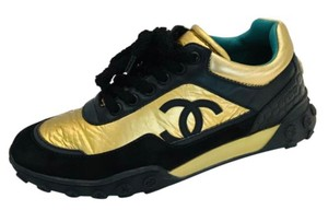 Chanel Gold/black Athletic