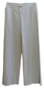 Emporio Armani Wide Leg Pants Pale Gray