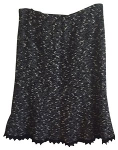 Nanette Lepore Skirt Black And White