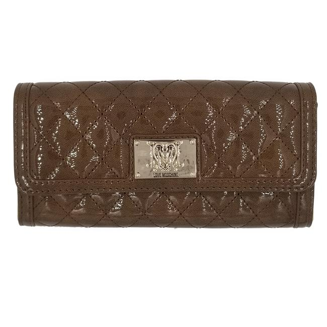 Item - Signature Super Quilted Deluxe Continental Luxury Wallet Gold Brown Leather Clutch