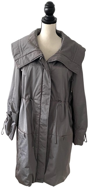Item - Gray L Puffer Jacket Us Coat Size 12 (L)