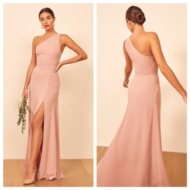 Item - Pink Evelyn Long Formal Dress Size 12 (L)