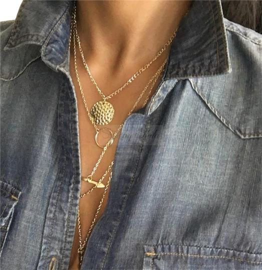 Preload https://item5.tradesy.com/images/gold-plated-athena-shi-by-shila-multi-layered-necklace-2781739-0-1.jpg?width=440&height=440
