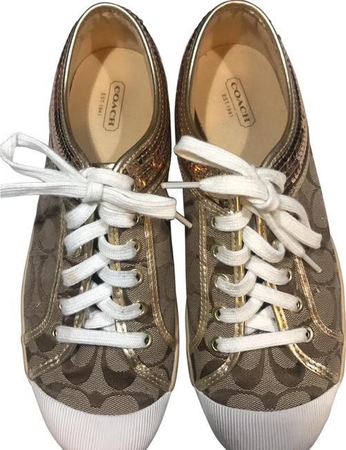 Item - Khaki Zorra Sneakers Size US 9.5 Regular (M, B)
