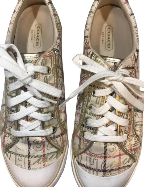 Item - Gold Multi Barrett Sneakers Size US 9.5 Regular (M, B)
