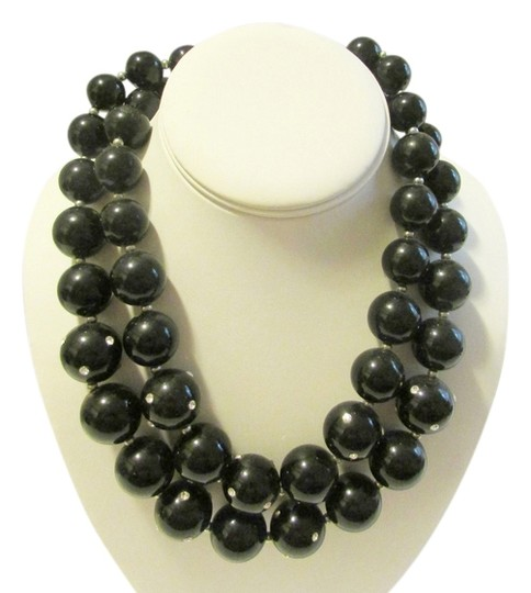 Preload https://item4.tradesy.com/images/real-collectibles-by-adrienne-black-with-cystal-accents-18-inch-necklace-2781868-0-0.jpg?width=440&height=440