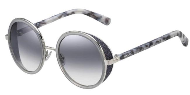 Item - New Andie Grey Round Crystal Sunglasses