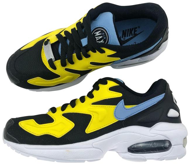 Item - Yellow Women's Air Max2 Light Its Mesh and Synthetic Upper Molded Heel and Max Air Unit Honor The Og While The Sneakers Size US 6.5 Narrow (Aa, N)
