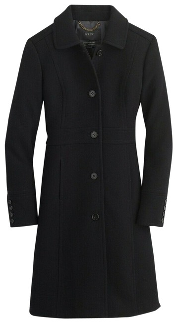Item - Black Regular Double-cloth Wool Lady Day Thinsulate 49622 Regular Coat Size 6 (S)