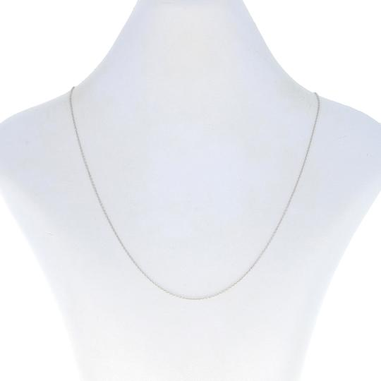 Preload https://img-static.tradesy.com/item/27820537/wilson-brothers-jewelry-white-gold-cable-chain-18-14k-lobster-claw-clasp-italy-z0677-necklace-0-0-540-540.jpg