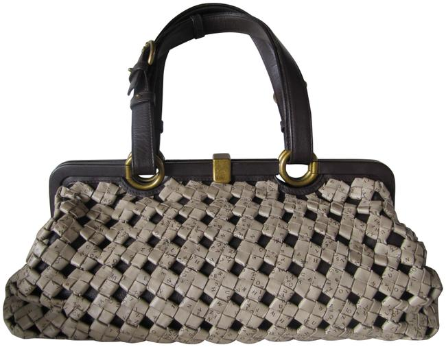Item - Limited Edition Brown Lambskin Leather Tote