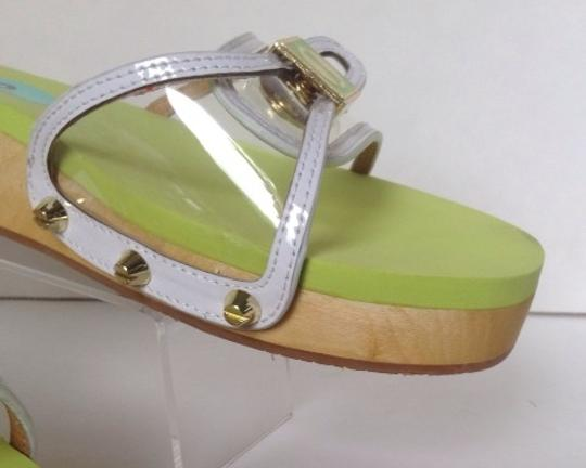 Flogg Clear/ White/ Yellow Sandals