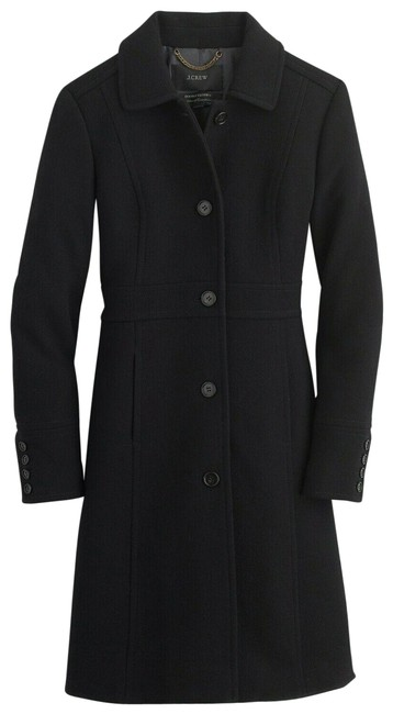 Item - Black Regular Double-cloth Wool Lady Day Thinsulate 49622 Coat Size 4 (S)
