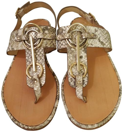 Preload https://img-static.tradesy.com/item/27820805/vince-camuto-gold-and-white-reptile-embossed-sandals-size-us-6-regular-m-b-0-1-540-540.jpg
