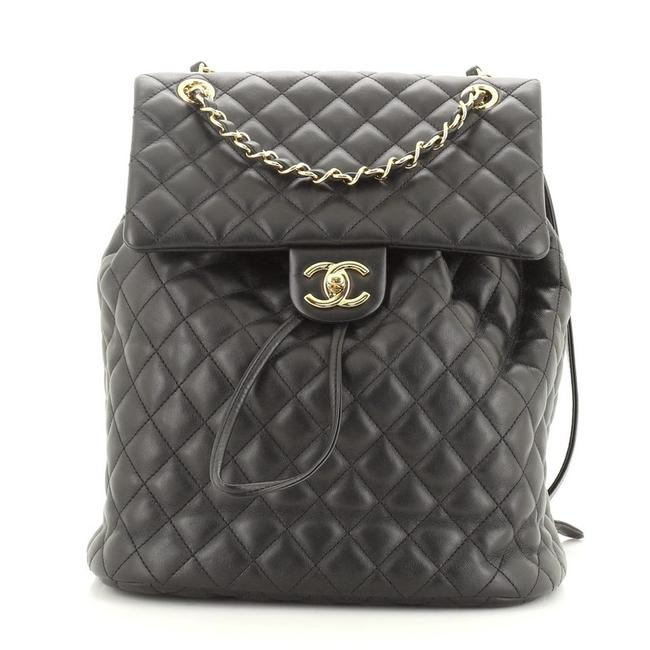 Chanel Urban Spirit Quilted Lambskin Leather Backpack Chanel Urban Spirit Quilted Lambskin Leather Backpack Image 1