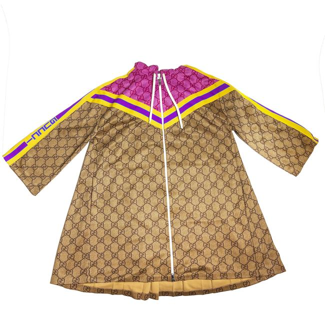 Preload https://img-static.tradesy.com/item/27820984/gucci-multi-color-zip-dress-jrs-gg-prpink-activewear-size-10-m-0-0-650-650.jpg