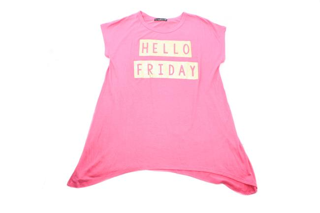 Item - Coral Hello Friday Girl's X-large Tee Shirt Size OS (one size)