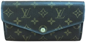 Louis Vuitton New Model NM Neo Sarah Long Flap Wallet bill card organizer