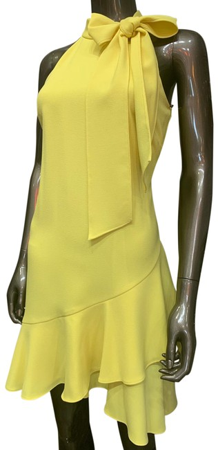 Item - Yellow Vc0m0964 Short Cocktail Dress Size 2 (XS)