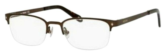 Fossil Brown Will-05bz-52 Eyeglasses Size 52mm 145mm 19mm Fossil Brown Will-05bz-52 Eyeglasses Size 52mm 145mm 19mm Image 1