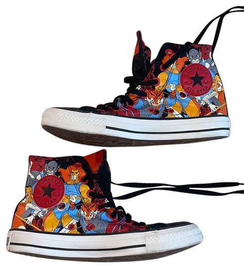 Preload https://img-static.tradesy.com/item/27821275/converse-black-red-multicolor-limited-edition-marvel-s-thunder-cats-hightop-sneakers-size-us-8-regul-0-1-540-540.jpg