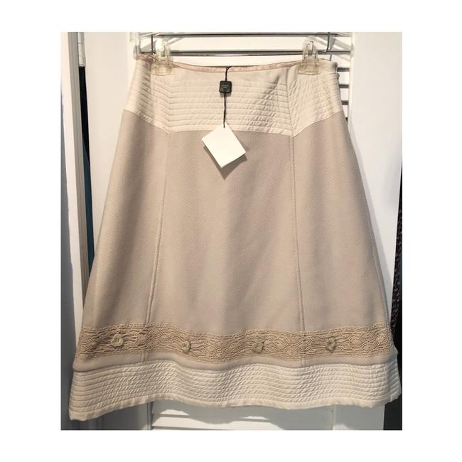 Item - Tan Wool Quilted A-line Skirt Size 8 (M, 29, 30)