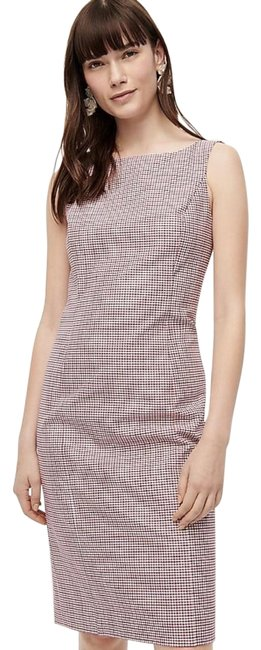 Item - Red Navy Sheath Color: Item # Ak636. Mid-length Work/Office Dress Size 10 (M)