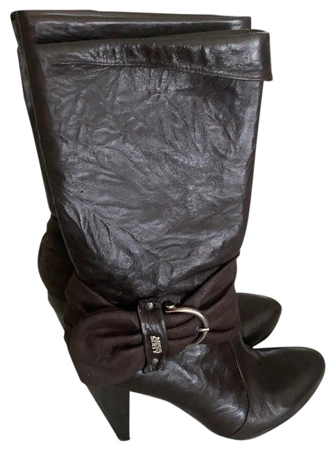 Miss Sixty Brown X Boots/Booties Size US 7 Regular (M, B) Miss Sixty Brown X Boots/Booties Size US 7 Regular (M, B) Image 1