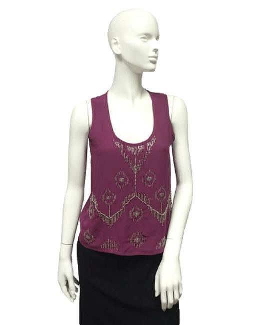 Item - Purple Ans Silver Happily Ever (Sku 000096) Halter Top Size 10 (M)