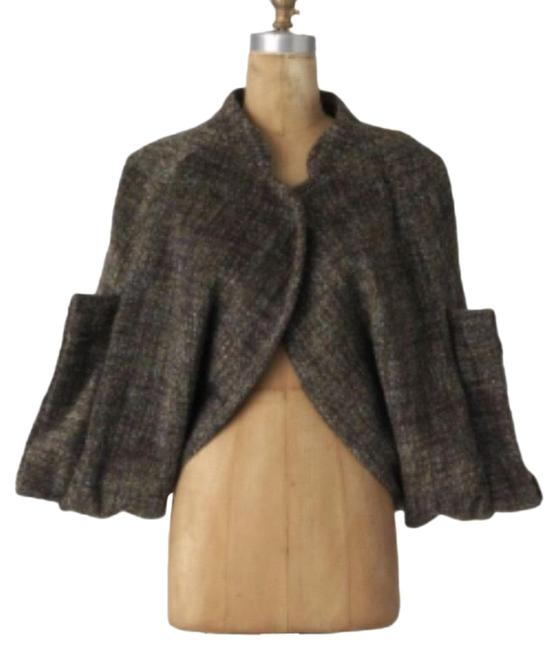 Item - Brown Shrug Jacket Wool Rützou Poncho/Cape Size 8 (M)
