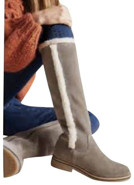 Item - Gray Liendo By Seychelles Suede Tall Boots/Booties Size US 6 Regular (M, B)