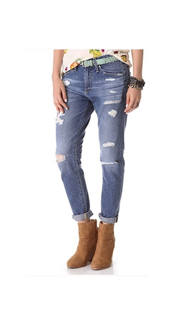"""Item - Blue Medium Wash """"beau"""" Relaxed Fit Jeans Size 2 (XS, 26)"""