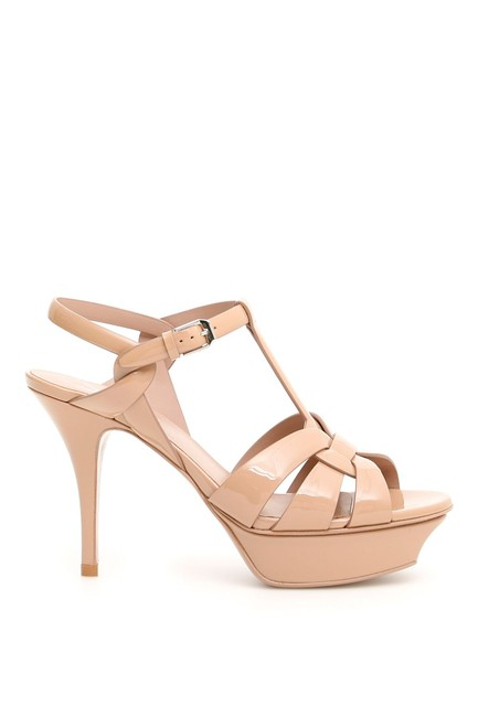 Item - Pink/Beige Tribute Sn Sandals Size EU 40 (Approx. US 10) Regular (M, B)