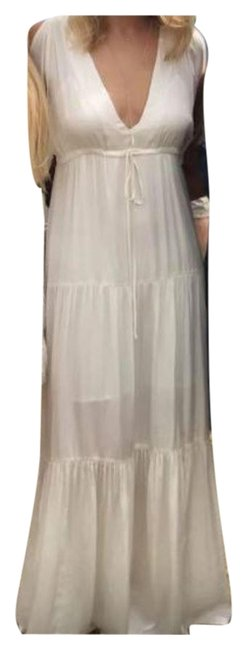 Item - Cream Long Casual Maxi Dress Size 6 (S)