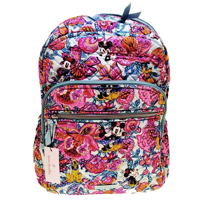 Item - Disney Mickey Showers Campus Multicolor Nylon Backpack